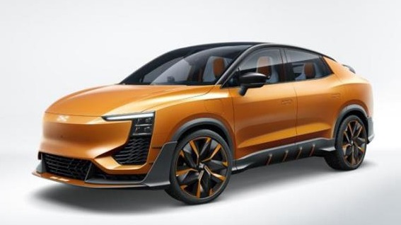 造型前卫、激进 爱驰U6 ion概念车将于成都车展亮相