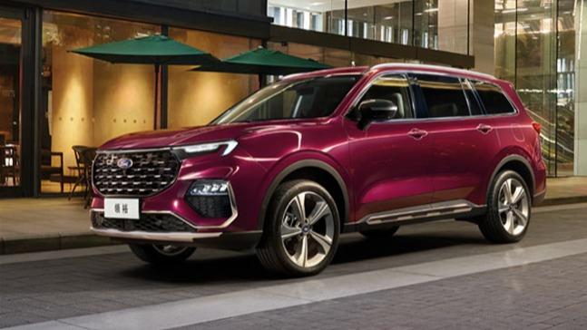 江铃福特领裕7座SUV上市 高配车型多花三万究竟花在哪了?