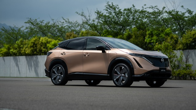日产汽车推出纯电动跨界SUV车Aryia 引领日产新方向