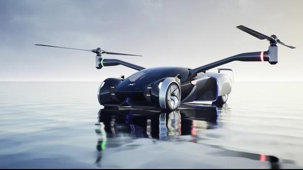 小鹏汽车三年后要将飞行汽车开上路 网友:C1驾照能开不?