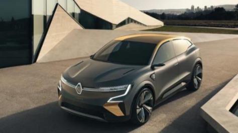 接近量产的概念电动车 雷诺紧凑型掀背车亮相