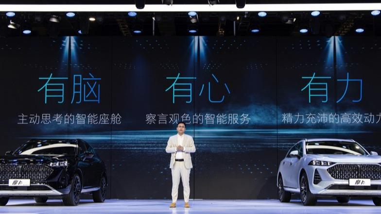 摩卡预售17.98万起 WEY进阶高阶自动驾驶 上海车展