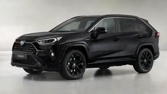 整车采用黑色元素 丰田RAV4特别版官图发布