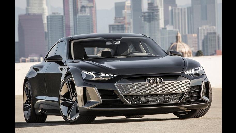 剑指保时捷Taycan 奥迪2021年发布e-tron GT