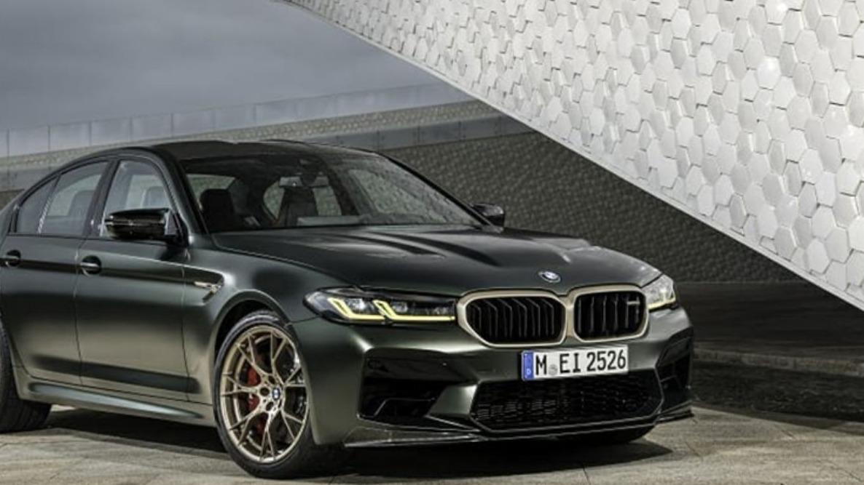 宝马旗下最快的车 宝马V8性能怪兽M5 CS官图曝光