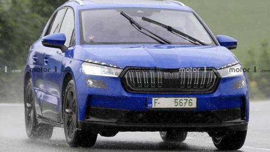 基于MEB电动平台打造 斯柯达首款电动SUV Enyaq将于明年亮相
