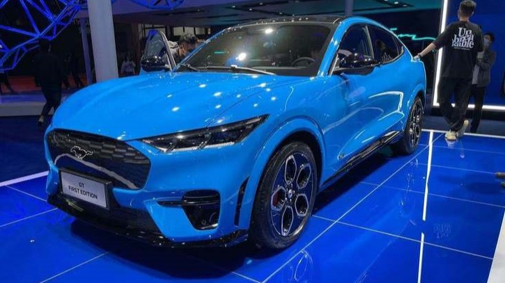 福特mustang mach-e国产版亮相 打的就是特斯拉 上海车展
