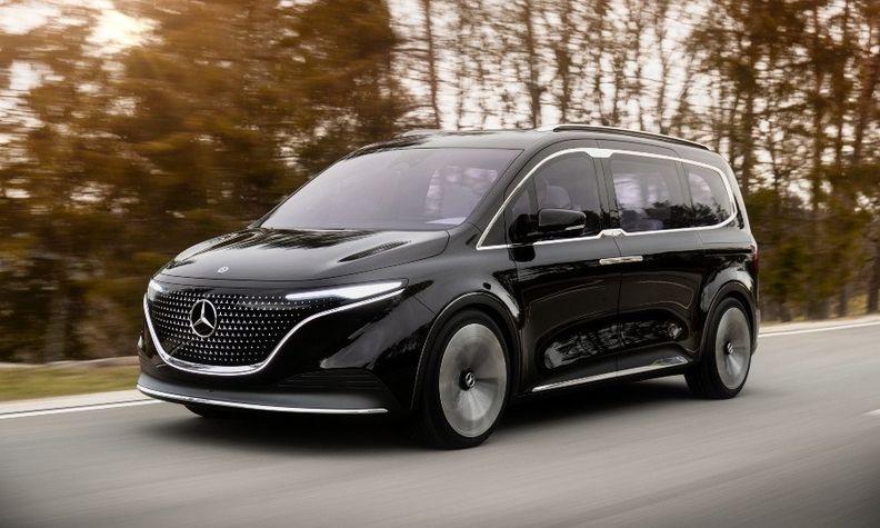 奔驰展示EQT概念车 正式版将于明年发布